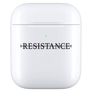 No resistance - Airpod case zwart