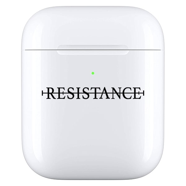 No resistance - Airpod case zwart