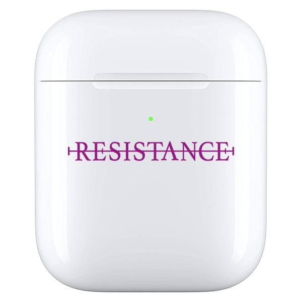 No resistance - Airpod case paars