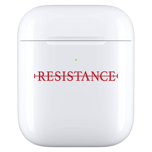 No resistance - Airpod case rood